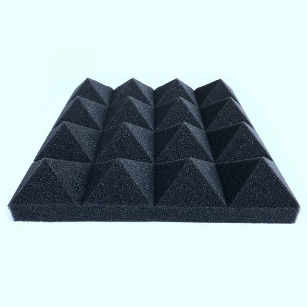 12 Pyramid Foam Soundproofing Tiles