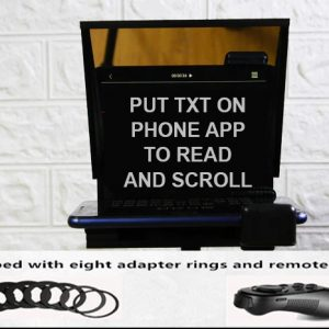 Portable Mini Teleprompter