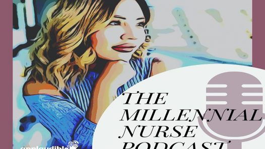 The Millenial Nurse 1440 x 960 with logo
