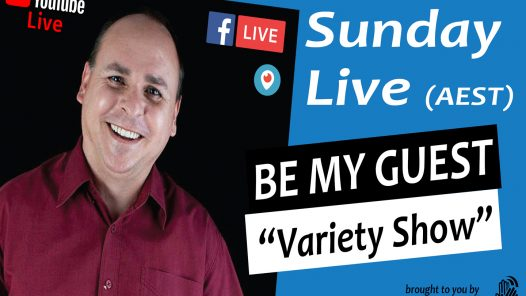 Be My Guest Livestream hosted by Craig Rowe