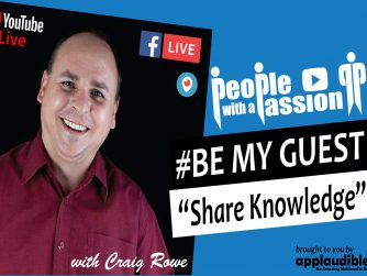 Be My Guest Livestream 8pm AEST -Share Knowledge