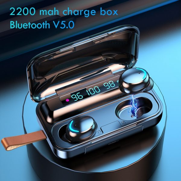 Bluetooth Wireless Stereo Earbuds 2000 mAh